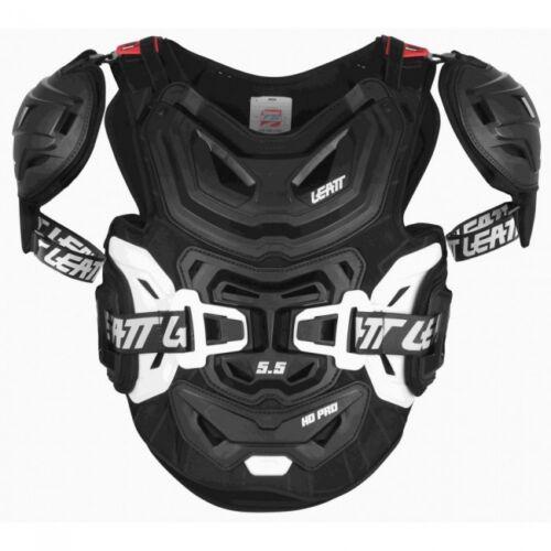 LEATT 5.5 PRO HD CHEST PROTECTOR ADULT ARMOUR BLACK MX MOTOCROSS ENDURO BMX QUAD