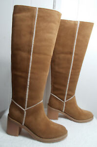 bc916cc3714 Details about NEW UGG Boots KASEN TALL Chestnut Women's Size 10