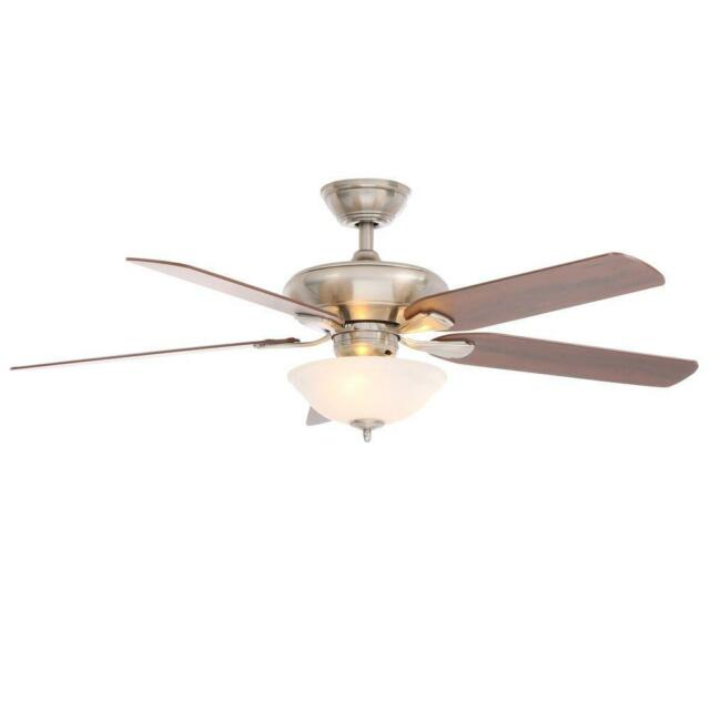 Hawkins 44 in Brushed Nickel Ceiling Fan Replacement Parts