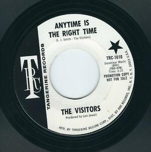 Northern Soul - Visitors TANGERINE Anytime is the right time / Never the less ♫