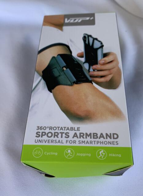 VDP Armband Phone Holder, 360°Rotatable Universal Sports Armband