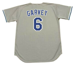 Image is loading STEVE-GARVEY-Los-Angeles-Dodgers-1981-Majestic-Throwback- 3facee4df4a