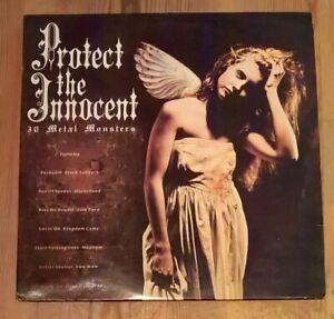 Various-Protect-The-Innocent-2-Vinyl-LP-Comp-33rpm-1989-Telstar-STAR2363
