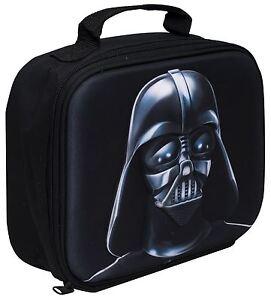 Lunch Bag Star Wars Darth Vader 3D Image School Travelling For Children Kids 8427934765980