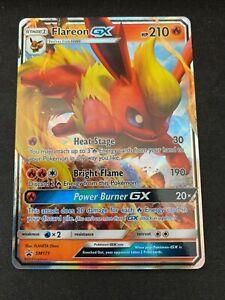Pokemon-Flareon-GX-SM171-Holo-Black-Star-Promo-Near-Mint