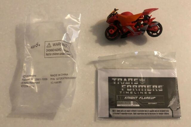 Botcon 2014 Transformers ATTENDEE Exclusive Knight Alpha Trizer