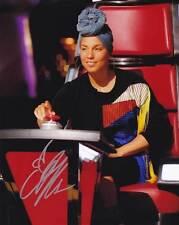 Alicia Keys In-Person AUTHENTIC Autographed Photo COA SHA #16450