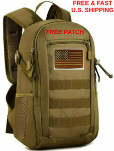 3 DAY GO-BAG Daypack Military Molle 12L Backpack Waterproof Tough W ... fd49f0d66aad6