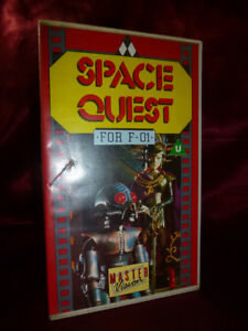 SPACE-QUEST-STAR-FLEET-For-F-01-RARE-VHS-90mins-9-Episodes-edited-FREE-P-amp-P