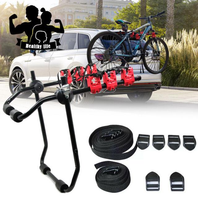 3 Bicycle Bike Car Cycle Carrier Rack Universal Fitting Hatchback Estate 45KG