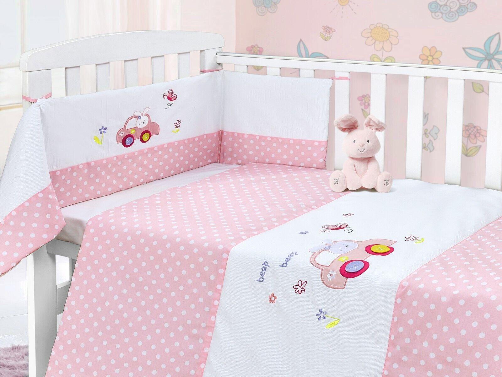 Baby Nursery Cot 2Pc Quilt /& Bumper Bedding Bale Set Blue Rocket