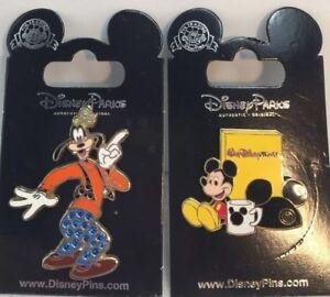 24 Sorcerer Hat// Goofy Hat// Mickey Ears Disney Parks Pin Backs 2 X 12 Pack