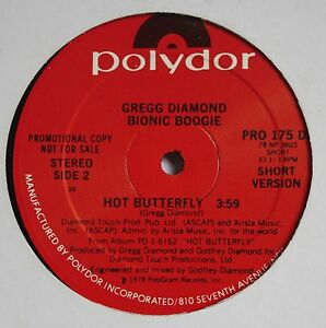 Bionic Boogie* Gregg Diamond Bionic Boogie - Tiger Tiger (Feel Good For A While) / Take The Boogie Home