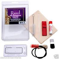 Ravel 375 Alto Saxophone Care & Cleaning Kit