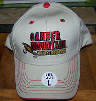 Junior / Youth Cap - gander Mtn. - Tan / Red - tee Size L -