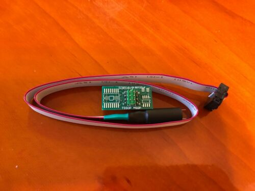 ZIP Socket TSSOP POGO Adapter with Guide Cap for Universal EEPROM Programmer