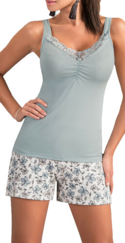 Chemise Lingerie de nuit sleepwear Sacs sous vide Femmes Pyjama Court Pyjama Short