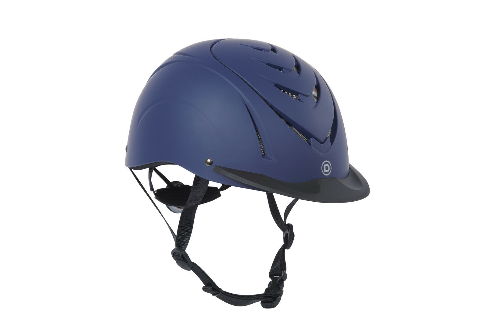 Dublin Chevron Riding Helmet with Dial Adjustment and Multiple Vents