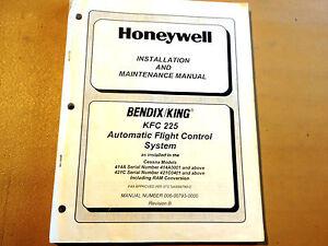 king kfc 225 autopilot in cessna 414a 421c install ramp rh ebay com bendix king kfc 225 autopilot manual King Avionics Manuals