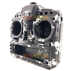 FrSky X9D Plus Taranis RC Radio Transmitter Replacement Shell Black Skull 1pc