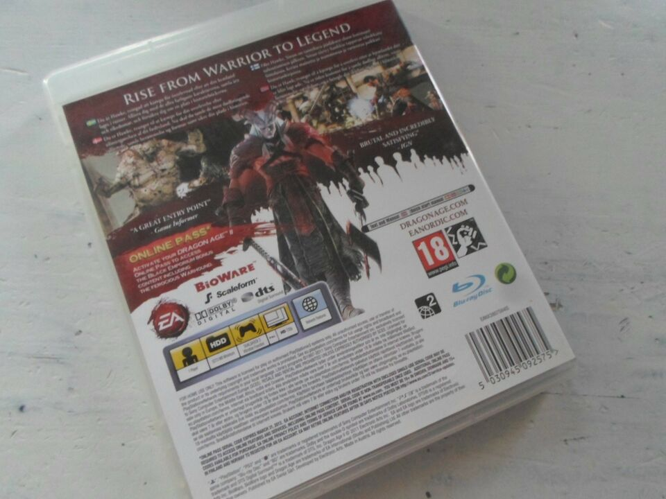 Dragon Age 2, PS3