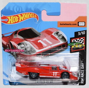 hot wheels case j 2019 hw race day porsche 917 lh red short card ebay. Black Bedroom Furniture Sets. Home Design Ideas