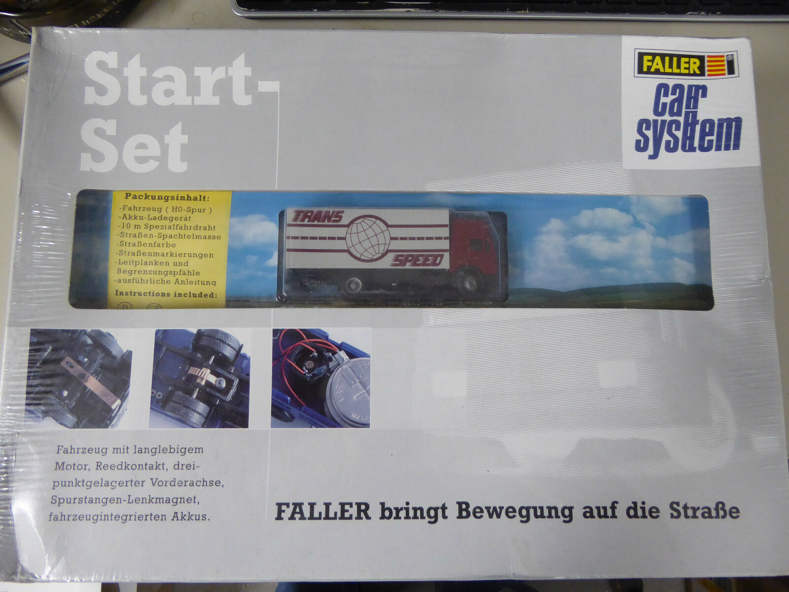 Faller h0 161512 CAR SYSTEM START-SET CAMION h0, MERCE NUOVA