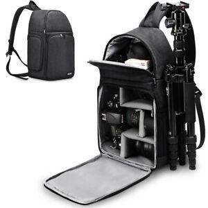 D15-Waterproof-Sling-Camera-Bag-Backpack-For-Canon-Nikon-1Camera-3-Lenses-Tripod