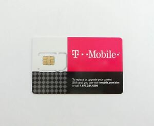 T-Mobile 4G LTE Replacement SIM CARD 3 IN 1 TRIPLE CUT Genuine New