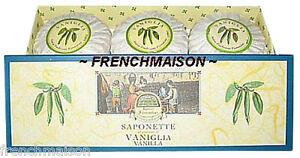 Speziali-Fiorentini-VANILLA-Italian-Florence-Soap-Gift-Box-Set-New-Free-Ribbon