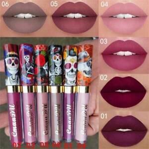 Women-Waterproof-Long-Lasting-Velvet-Matte-Lipstick-Makeup-Liquid-Lip-Gloss-AU
