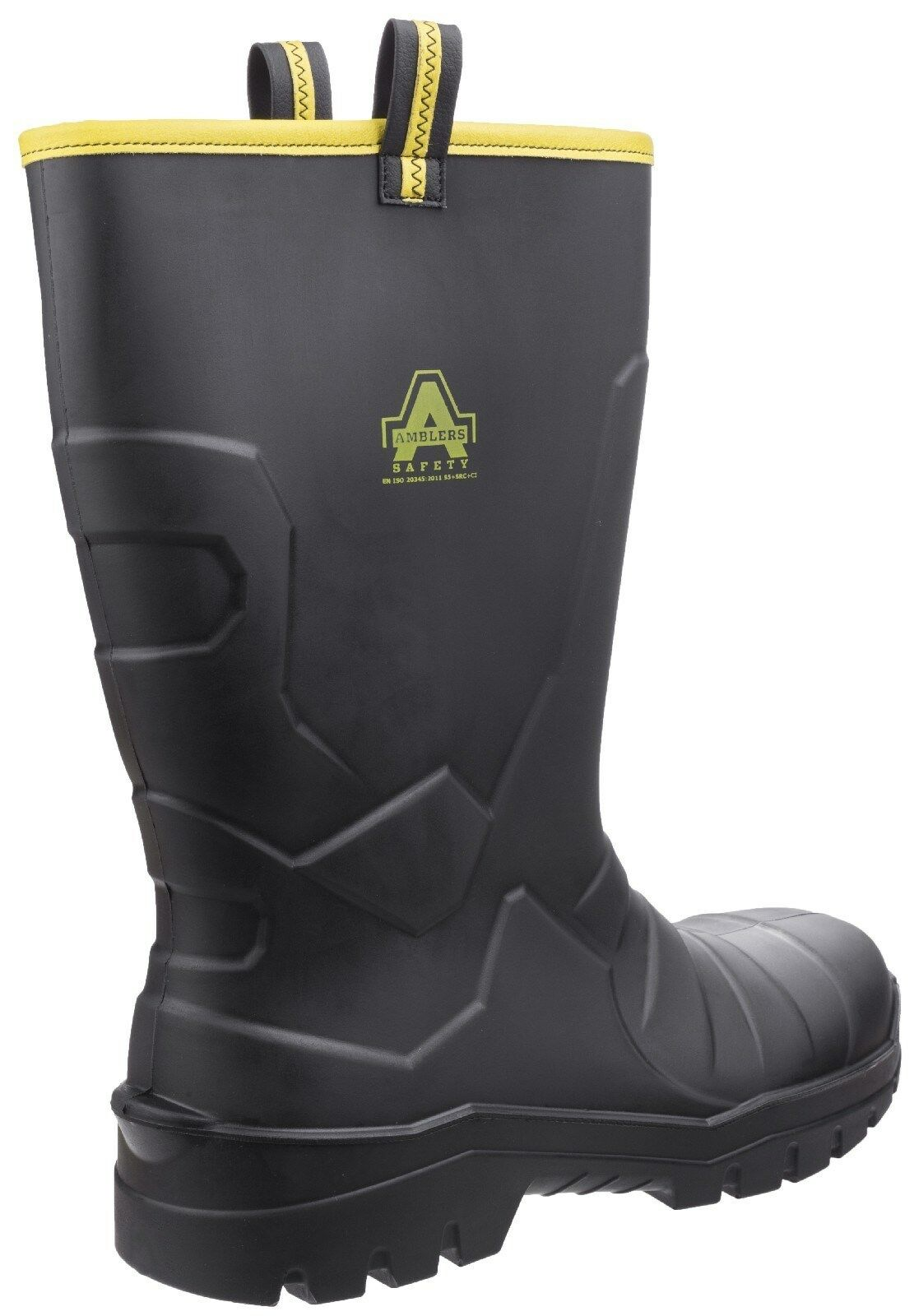 Amblers AS1008 Safety Wellingtons Steel Toe Cap Wellies Boots Mens Work Boots Wellies 2a9c1a
