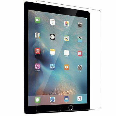 For iPad Pro 12.9 Exact [Anti-Fingerprint] Tempered Glass Screen Protector Clear