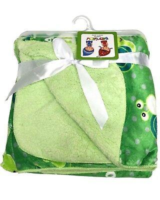 Bleu Polaire Douce Nouveau Né Baby Wrap couverture confortable chaud bébé landau housse 0-12 M UK