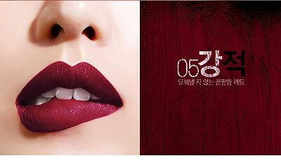[BBIA] Red Series Velvet Matte Last Lipstick (CHOOSE COLOR) 3.2g KOREA NEW