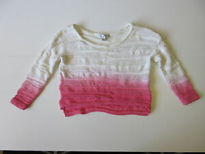 Women-039-s-FOREVER-NEW-Sz-8-AU-Knit-Cropped-Jumper-ExCon-Cotton-3-Extra-10-Off