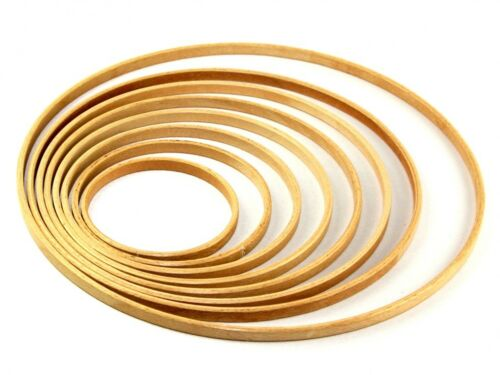 per pack of 2 INNER-M LL Elbesee 10mm Deep Wooden Rings