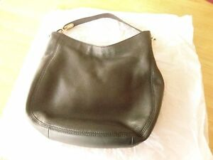 Image is loading Michael-Kors-Fulton-Medium-Leather-Hobo-Bag-Black- 7aef7c7587b5c