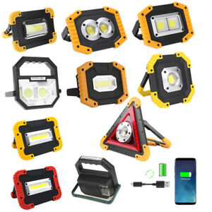 Details About Outdoor Portable Led Work Light Waterproof Usb Rechargeable Car Maintenance Lamp