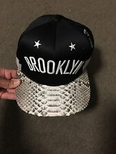 Mitchell And Ness Brooklyn Nets Snake Skin Snap Back