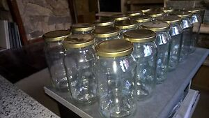 Crtn-18-x-500ml-Round-Food-Storage-Preserving-Glass-Jars-with-Gold-Lids-new