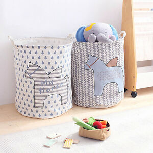 Image Is Loading Baby Children Room Nursery Bedroom Laundry Tidy Toy