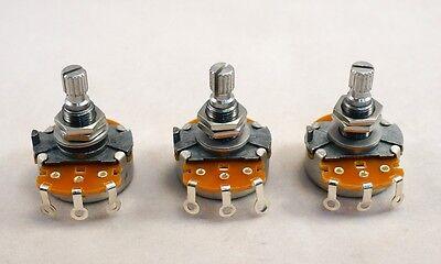 -Set of 3- Gotoh Standard Pot - Metric shaft - 250 k ohm