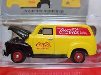 Johnny Lightning - Coca-cola Delivery Services - '50 Chevy Panel Delivery
