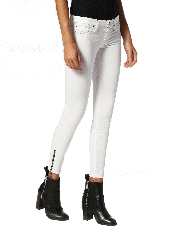 Diesel Skinzee-Low-Zip 084IQ Elasticizzato women Jeans Aderenti
