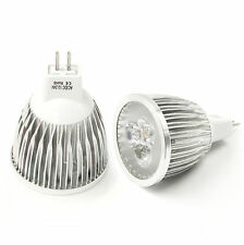 Bright MR16 CREE Non-dimmable LED spot lights lamp bulb 6W 60° Warm White