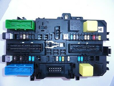 fuse box rear idents hd he hf astra h zafira b 93184968. Black Bedroom Furniture Sets. Home Design Ideas