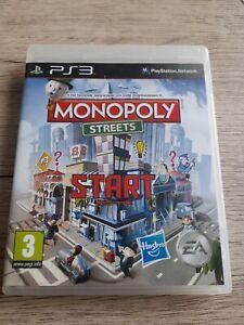 JEU SONY PLAYSTATION 3 PS3 MONOPOLY STREETS