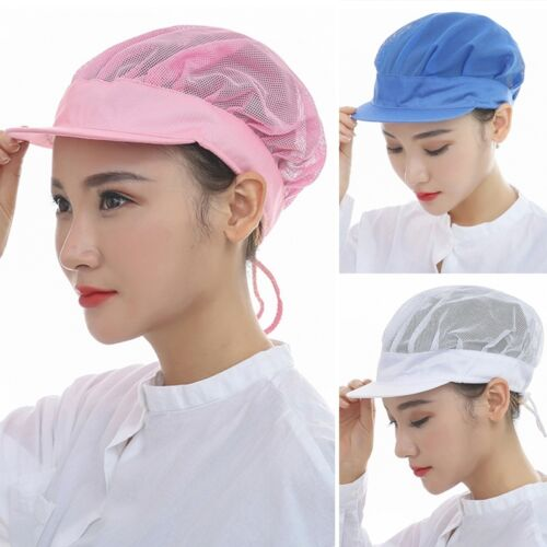 New Catering Cap Restaurant Chef Bakery Workshop Cap Cleaning Staff Mesh Hat
