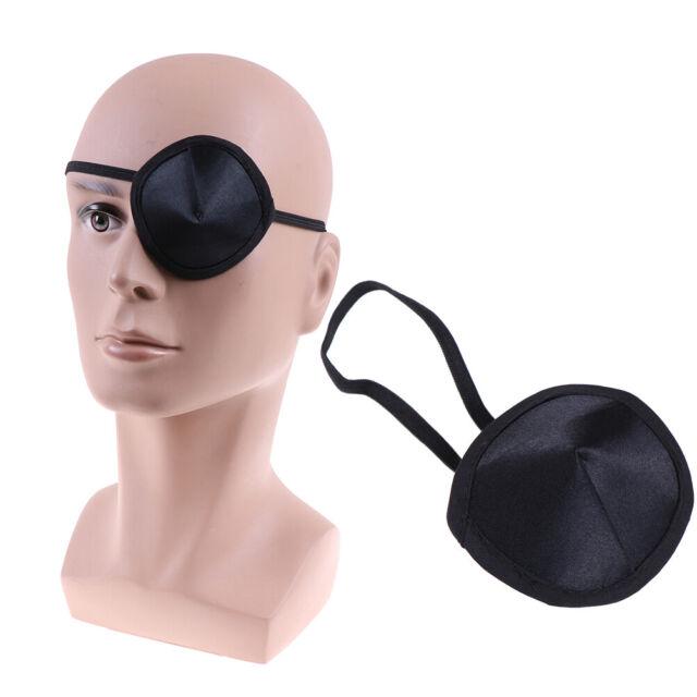 Pirate Eye Patch Single Eye Mask Eyeshade Cover for Adult Lazy Eye Amblyopia